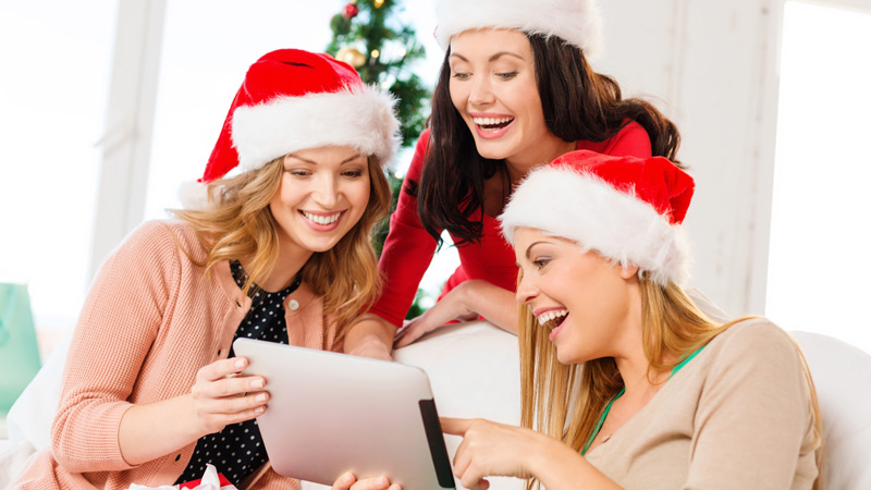 Realiza postales para felicitar la Navidad o cumpleaños desde tu tablet o Smartphone