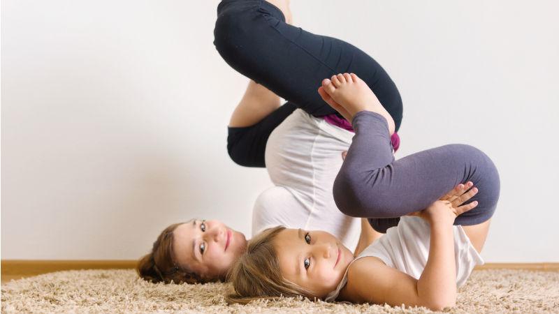 Ejercicio padres e hijos para reforzar lazos