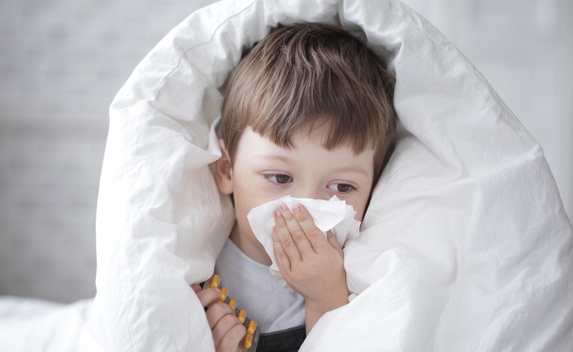 Hábitos para inmunizar a tus hijos contra los resfriados
