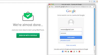 confirmación-google