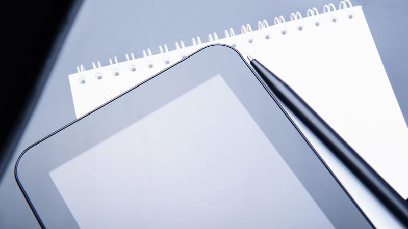 Aplicaciones de editores de texto para tablets y smartphones