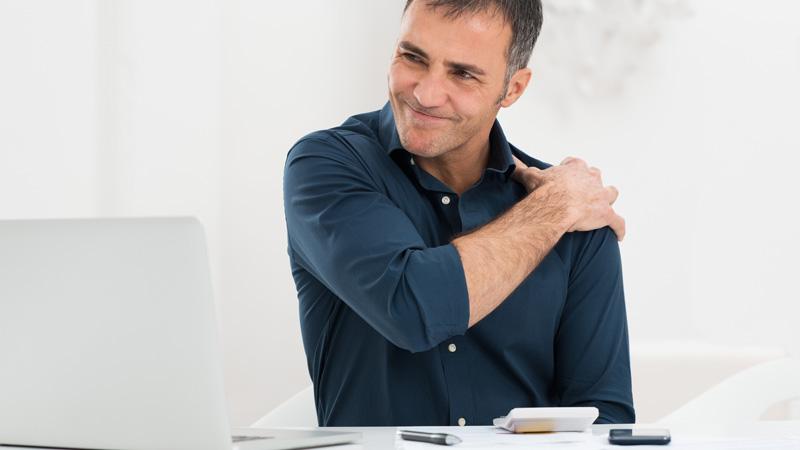 El estrés puede provocar lesiones musculares