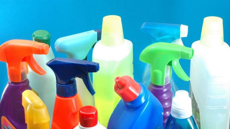 Cómo ordenar productos limpieza