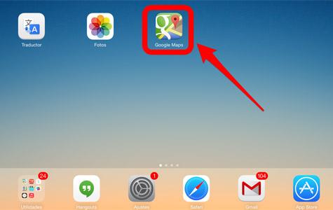 Google Maps-paso 0
