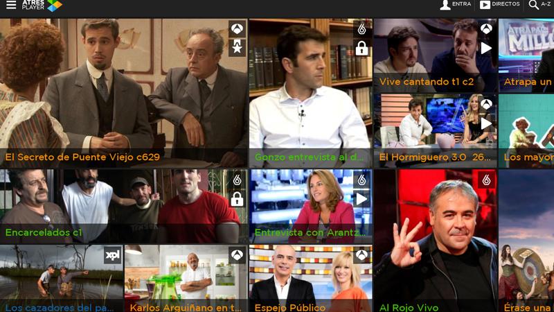 Las mejores aplicaciones para ver la televisión en tu tablet