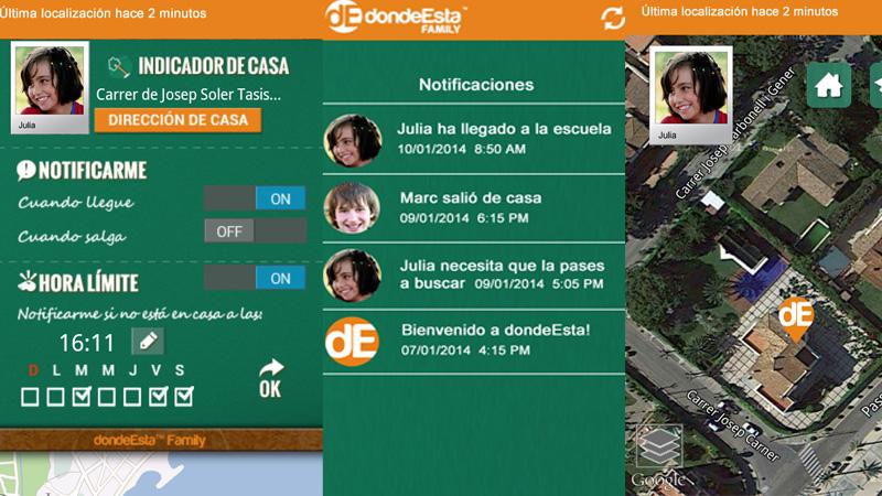 dondeEsta Family, la aplicación que te permite tener localizados a tus hijos