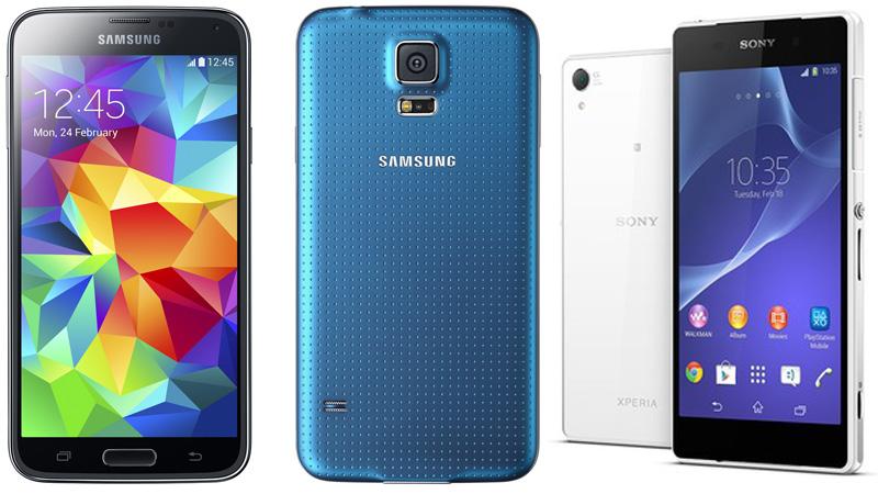 Galaxy S5 y Xperia Z2, los mejores teléfonos para llevar a la playa este verano