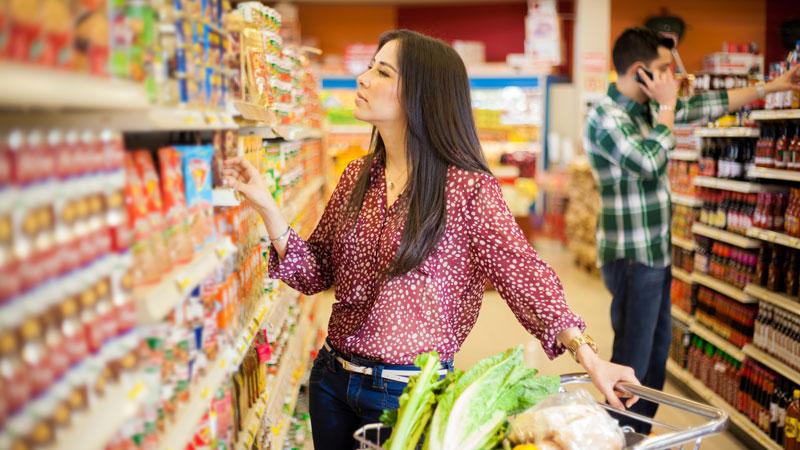 Cómo hacer la compra si estás a dieta