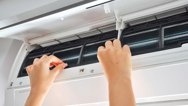 Cómo limpiar el filtro del aire acondicionado