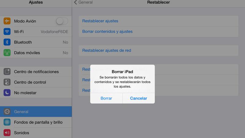 Cómo formatear tu iPhone o iPad para dejarlo como recién comprado