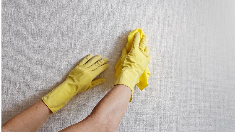 C mo limpiar paredes blancas flota - Como limpiar las paredes de casa ...