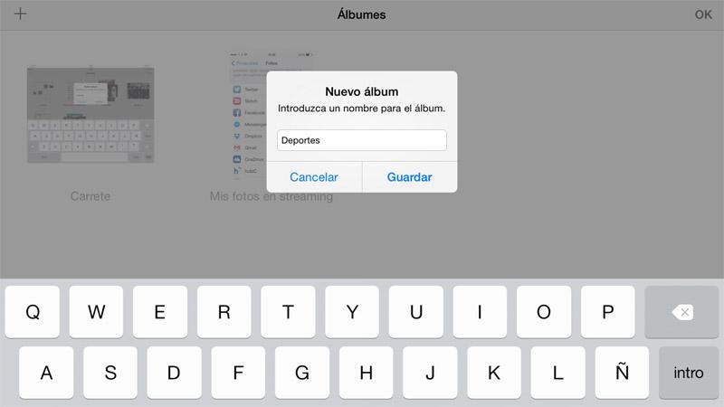 Cómo organizar las fotos en el iPhone o iPad