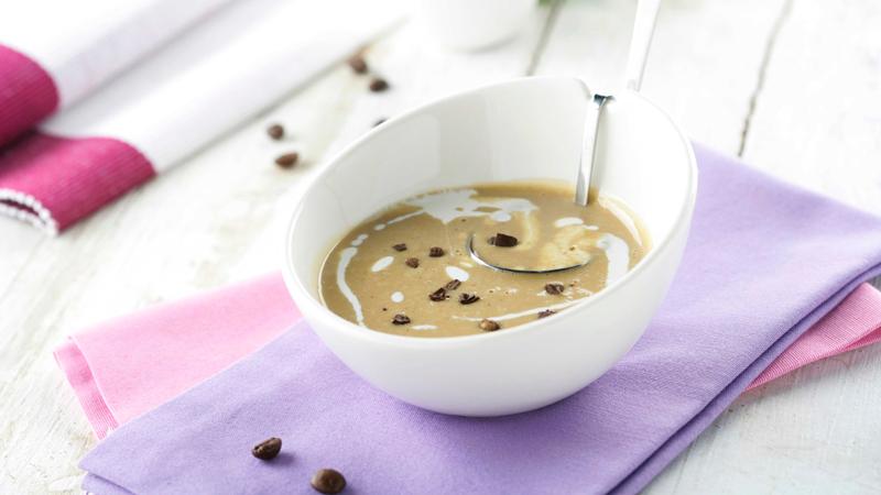 Crema de café con chocolate