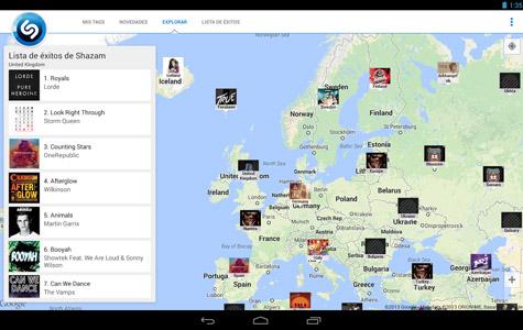 Shazam y SoundHound, dos aplicaciones para descubrir música