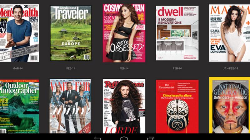 Tres opciones para leer revistas en tu tablet