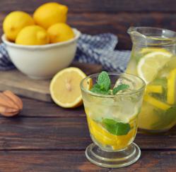 Limonada para desintoxicar tu cuerpo