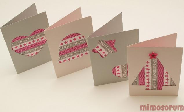 captura de pantalla a las tarjetas navideas d para realizar