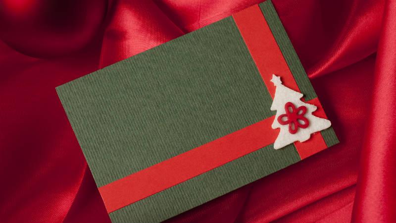 ideas para hacer una tarjeta de felicitacin de navidad original - Como Hacer Una Postal De Navidad
