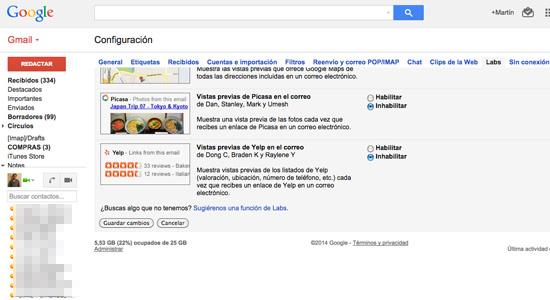 guardar-cambios-google-labs