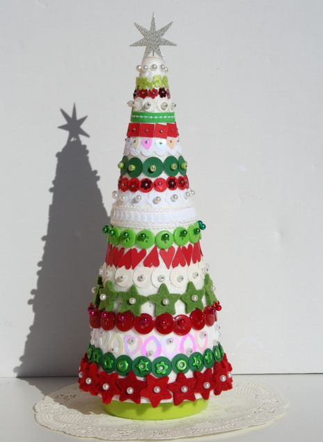 Ideas originales para hacer un rbol de navidad flota for Como hacer un arbol de navidad original