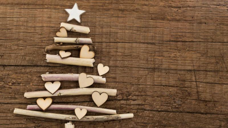 Ideas originales para hacer un árbol de Navidad