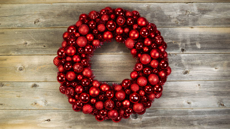 Ideas para hacer coronas de navidad flota - Como hacer coronas navidenas ...