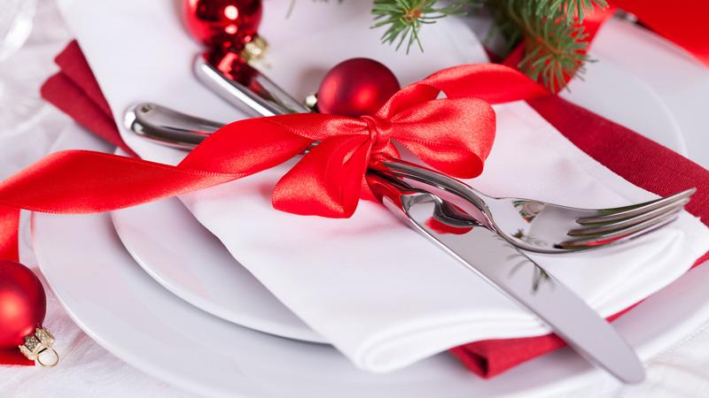Lazos para decorar la mesa