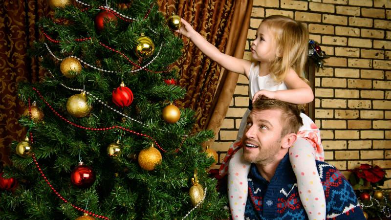 Navidades en familias de padres separados
