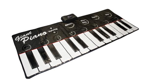Teclado de piano gigante