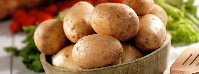 Las patatas no se deben guardar en la nevera