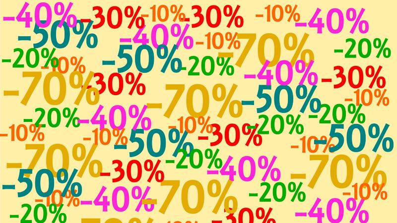 Aplicaciones para comprar en rebajas
