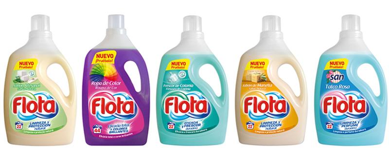Elige tu producto Flota según tu perfume preferido