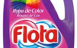 Flota ropa de color