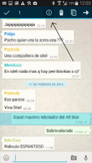 Cómo saber quien ha leído tus mensajes en los grupos de WhatsApp