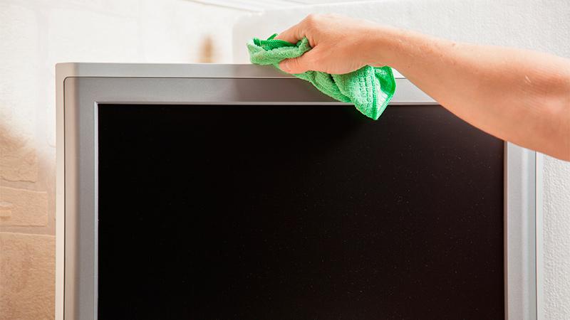 Cómo limpiar el televisor eficazmente