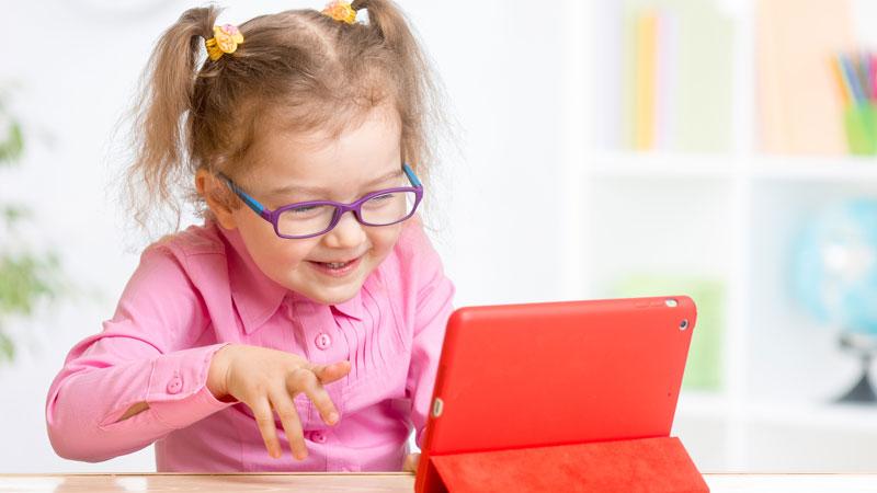 Tres tablets especiales para niños