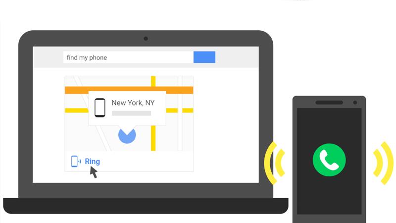 Encuentra tu teléfono Android desde el buscador de Google