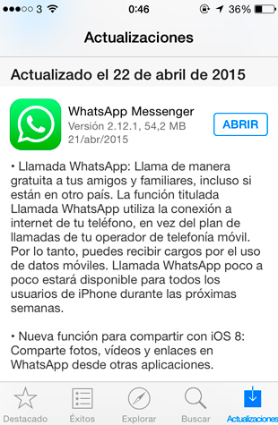 llamadas-whatsapp-iphone-actualizar