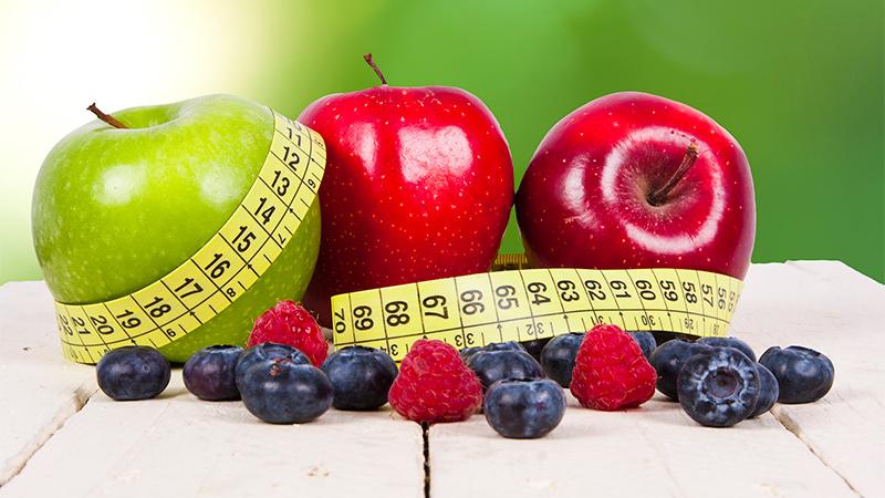 fruta menos calorías