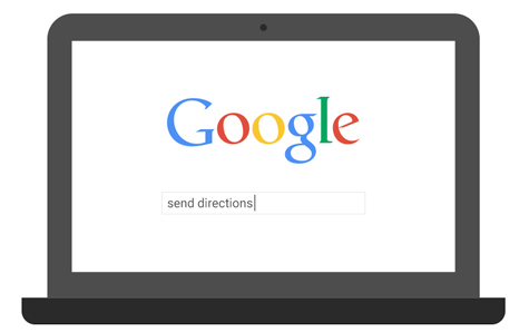 google-send-directions