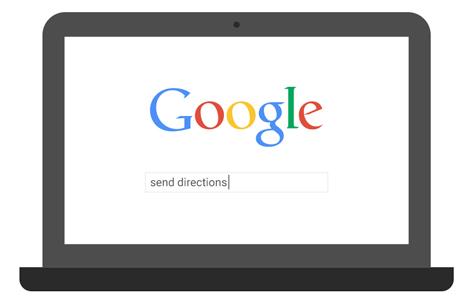 google-send-directions