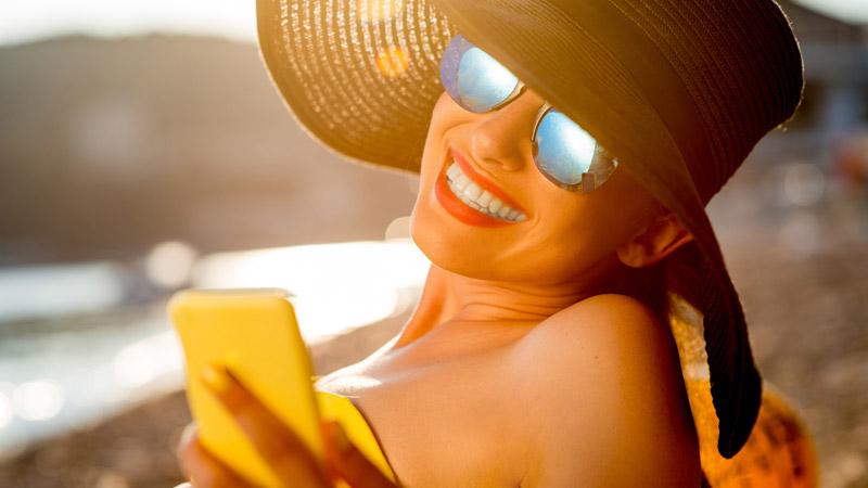 Las mejores aplicaciones para tomar el sol este verano