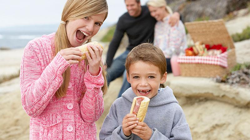 Ideas para hacer pícnics y bocadillos saludables