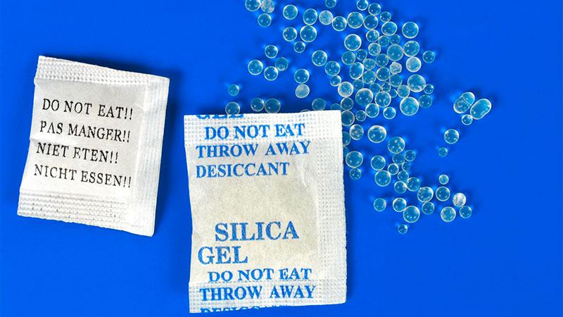 Usos para las bolsas de sílice