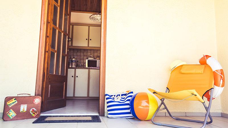 Consejos para dejar la casa vacía en vacaciones