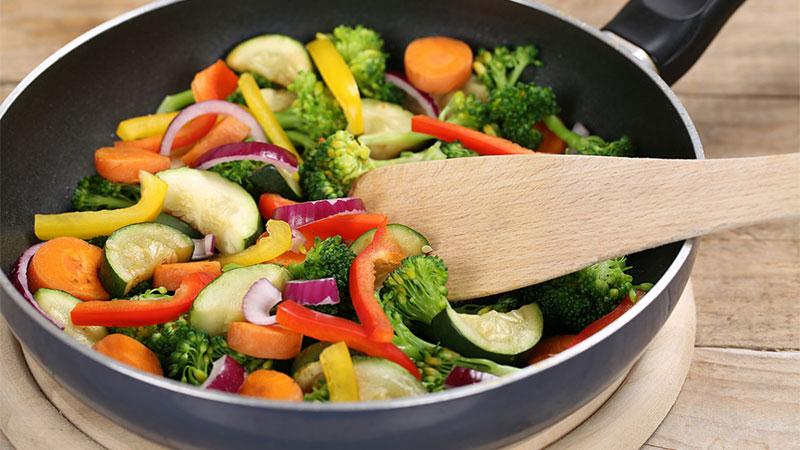 Cómo cocinar las verduras para que conserven los nutrientes