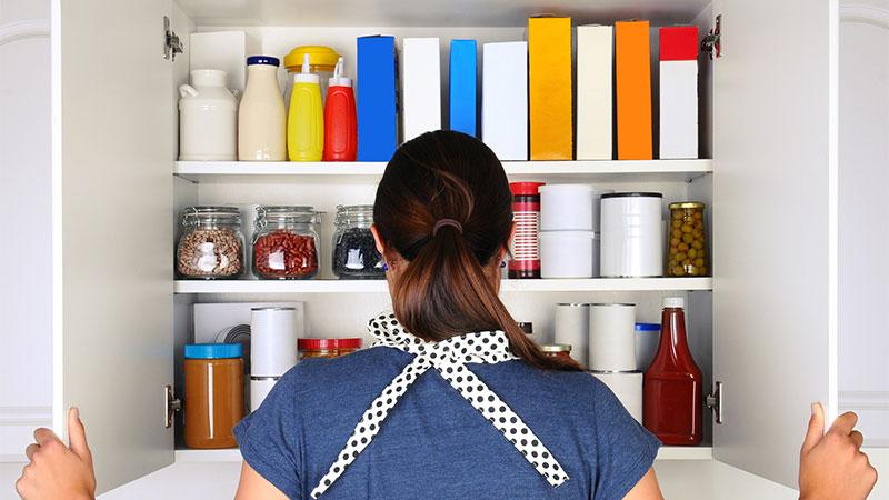 Cómo organizar la despensa de casa