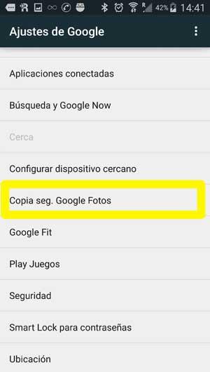 2-desactivar-subidas-google-fotos-android
