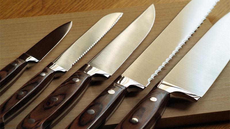 Cómo cuidar los cuchillos de cocina