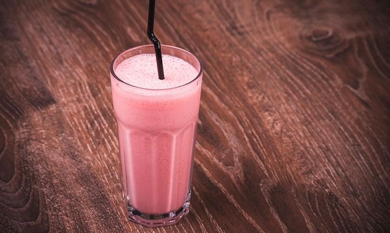 batido-fresa-jengibre